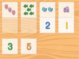 Preschool Number Matching Game Math