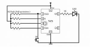 switch that turn on the circuit in one press and turn off With gsm modem circuit