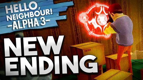 Hello Neighbor  Brand New Ending! Secret Rooms & Codes