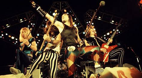 In 1982, An Audience Witnessed Iron Maiden Perform This ...
