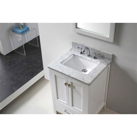 24 inch bathroom vanity with sink transitional 24 inch white bathroom vanity with white