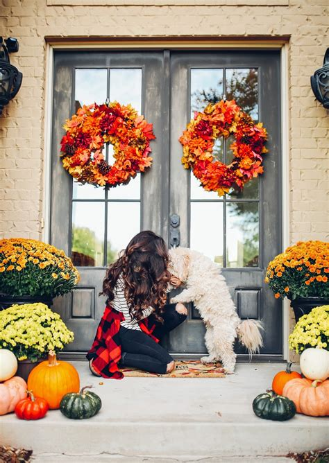 Ideas For Fall Front Porch by Our Fall Front Porch Decor The Sweetest Thing