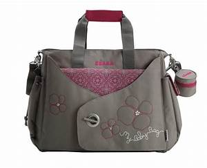 Sac A Langer Rose : beaba sac langer my baby bag gris rose ~ Teatrodelosmanantiales.com Idées de Décoration
