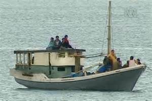 Fishing Boats For Sale Indonesia by The 14 Kurds Arrived At Melville Island On An