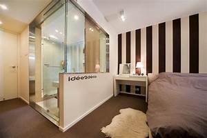 creer une salle de bain dans une chambre maison design With faire une salle de bain dans une chambre