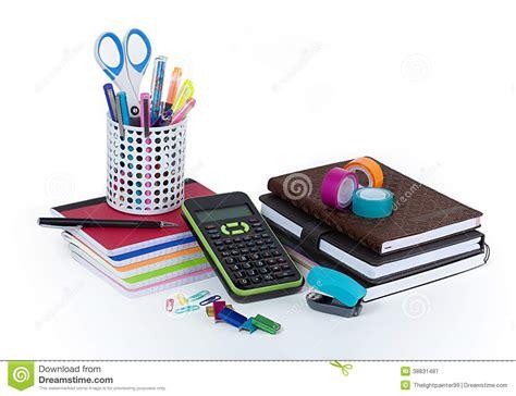 fournitures de bureau pour particuliers fournitures de bureau d 39 école et image stock image du