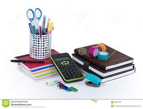 fourniture de bureau jpg fournitures de bureau d 39 école et image stock image du