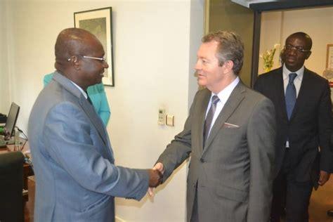 chambre internationale de commerce cérémonie de signature d accord entre la chambre de