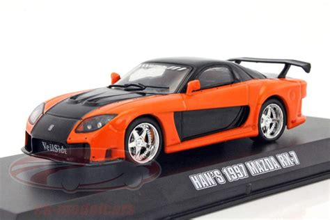 ck modelcars 86212 han s mazda rx 7 fast and the