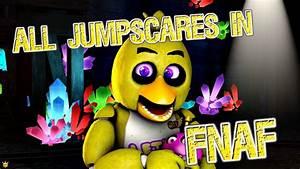 ALL JUMPSCARES IN FNAF 1 | FunnyCat.TV