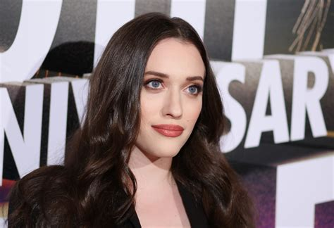 Kat Dennings Just Shared Picture Her First Gray Hairs