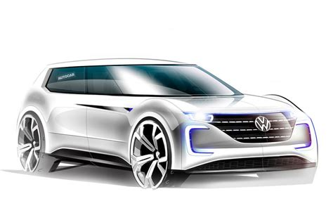 Vw's 2019 Electric Vehicle For Paris Motor Show Reveal