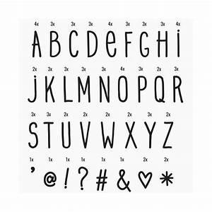 Lettre Pour Lightbox : set de lettres hand drawn crit la main pour lightbox ~ Teatrodelosmanantiales.com Idées de Décoration