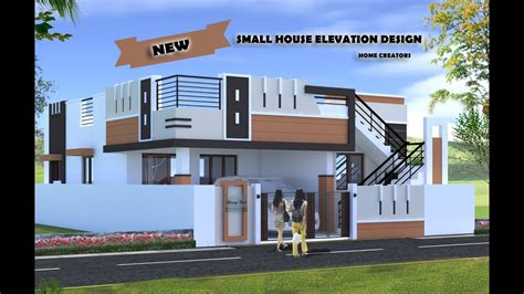 Home Design Ideas Front by 30 Beautiful Small House Front Elevation Design 2019