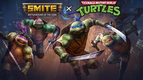 The Teenage Mutant Ninja Turtles Are Now Playable In Smite