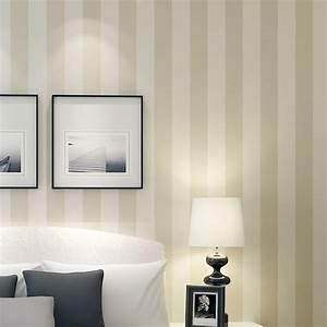 56 sqf 10m rolle modernen schlichten stil beige weiss beige for Markise balkon mit living wall tapete