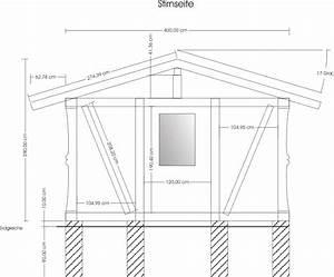 Gartenhaus 1 Bauzeichnung *MIT BILD*