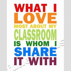 Items Similar To Teacher Appreciation What I Love Most About My Classroom  Digital Printable