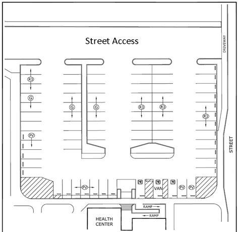 sample parking lot design cad pro