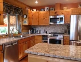 log cabin kitchen in wenatchee wa rustic kitchen seattle by ambiente european tile design