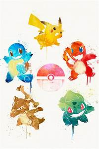 watercolor pokemon images