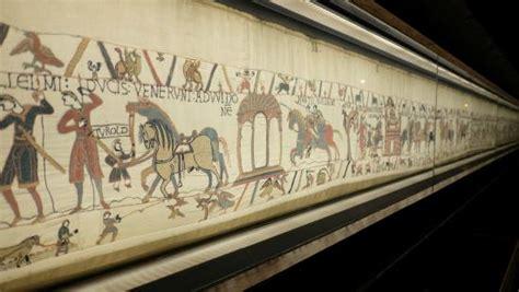 Tappezzeria Di Bayeux une partie de la tapisserie picture of musee de