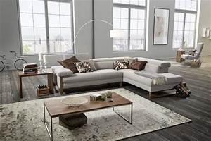 Canapé D Angle Confortable : canap angle cuir design 5 places dreamline assises r glables ~ Teatrodelosmanantiales.com Idées de Décoration