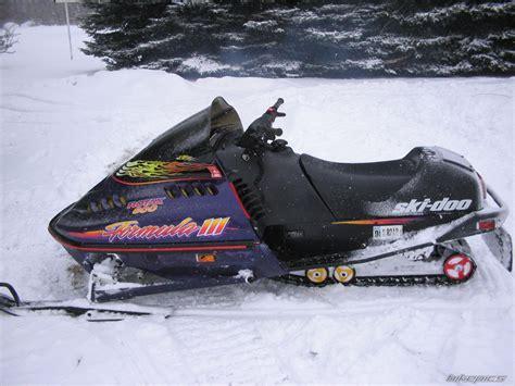 Bikepics 1996 Ski Doo Formula 3 600