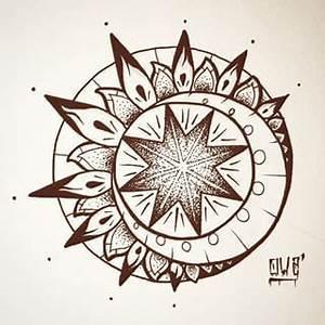 Lune Dessin Tatouage : tatouage lune soleil ~ Melissatoandfro.com Idées de Décoration