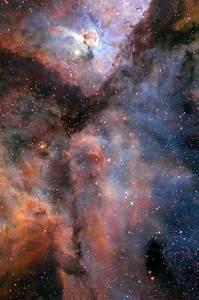 Carina Nebula (ground-based image) | ESA/Hubble