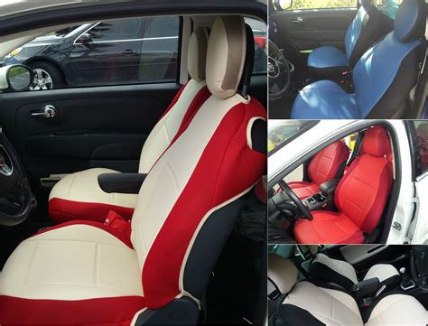 Fiat 500 Seat Covers by High Quality Custom Car Seat Covers For Fiat 500