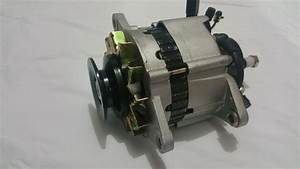 Alternator With Pump For Nissan Gq Patrol Engine Td42 4 2l Diesel 1988-1997