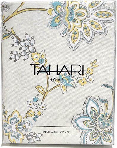 and yellow curtains tahari fabric shower curtain yellow blue gray white floral