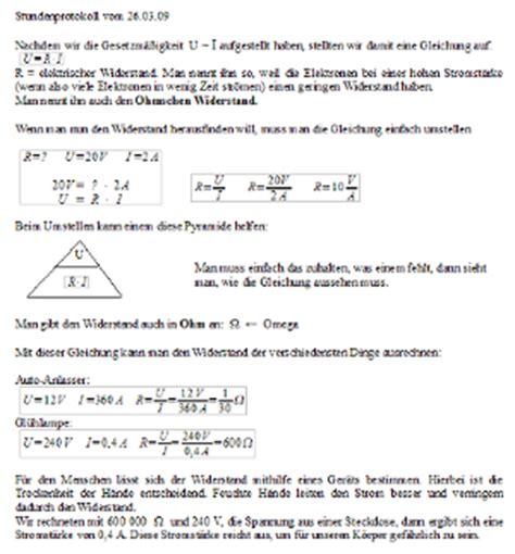 Ph Lampe by 0809 Unterricht Physik 8c Elektrizit 228 Tslehre