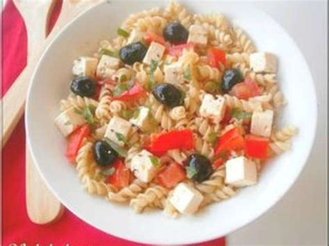 salade de pates feta les meilleures recettes de salade de p 226 tes et feta