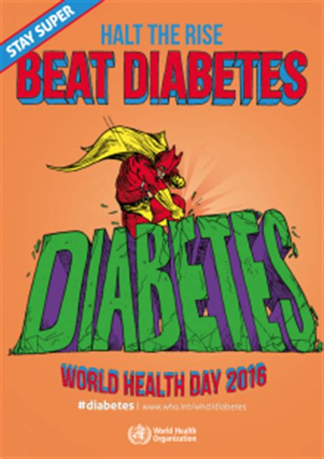 posters stay super beat diabetes