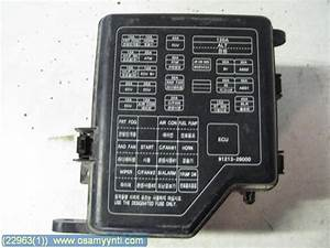 Fuse Box    Electricity Central - Hyundai Santa Fe