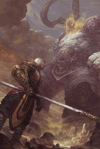 Sargeras vs Monk by EdCid on DeviantArt