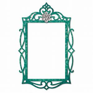 Sizzix - Thinlits Die - Frame, Fancy Rectangle