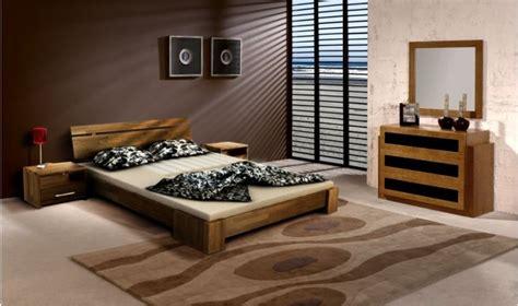chambre en bois massif lit design en bois massif avec ou sans chevets de qualit