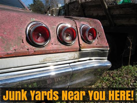 junk yards   find  auto parts