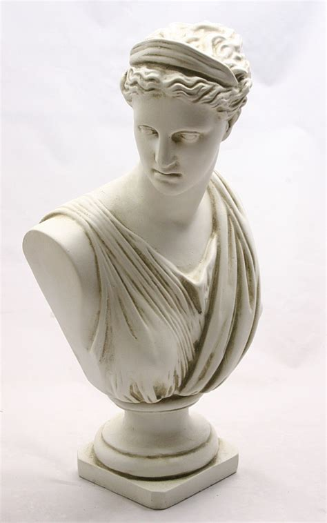diana artemis of versailles statue bust goddesses goddesses classical busts home