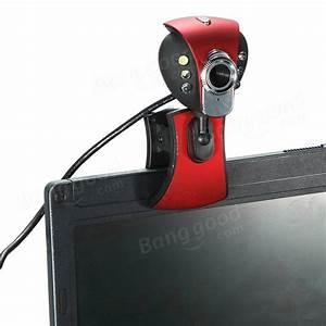 Usb 50m 6 Led Night Vision Webcam Camera Web Cam With Mic