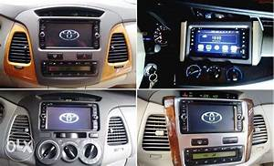 Toyota Innova Car Tv Dvd Gps Android Head Unit Stereo With
