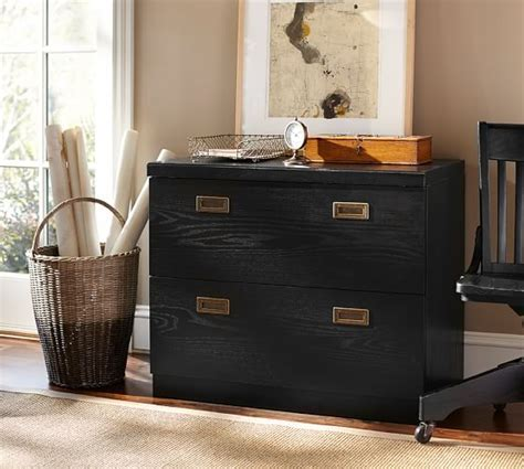 Reynolds 2 Drawer Lateral File Cabinet   Pottery Barn