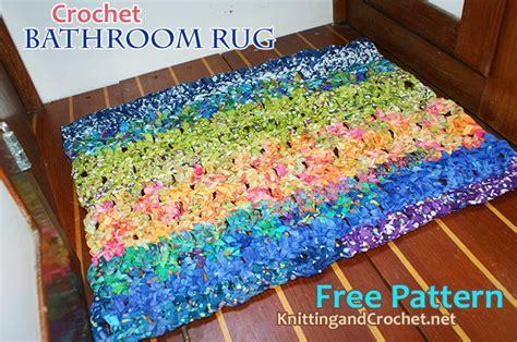 Bathroom Rug Knitting Pattern