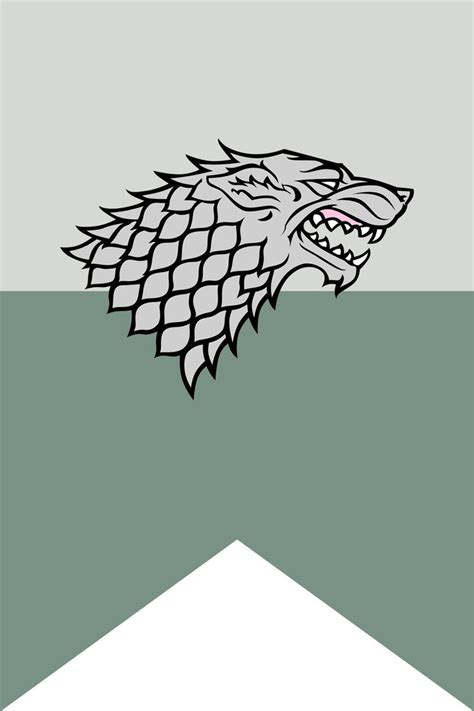 stark colors house stark flag poster by tailwindstudios on deviantart