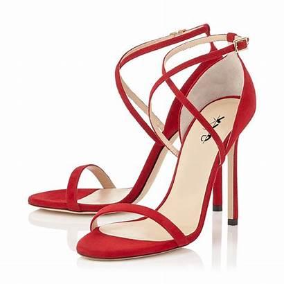 Strappy Heels Sandals Summer Purple Xyd Tan