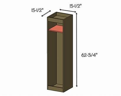 Golf Locker Diy Dimensions Plans Garage Bag