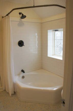 Tub Shower Combo One by Corner Tubs For Small Bathrooms Foter